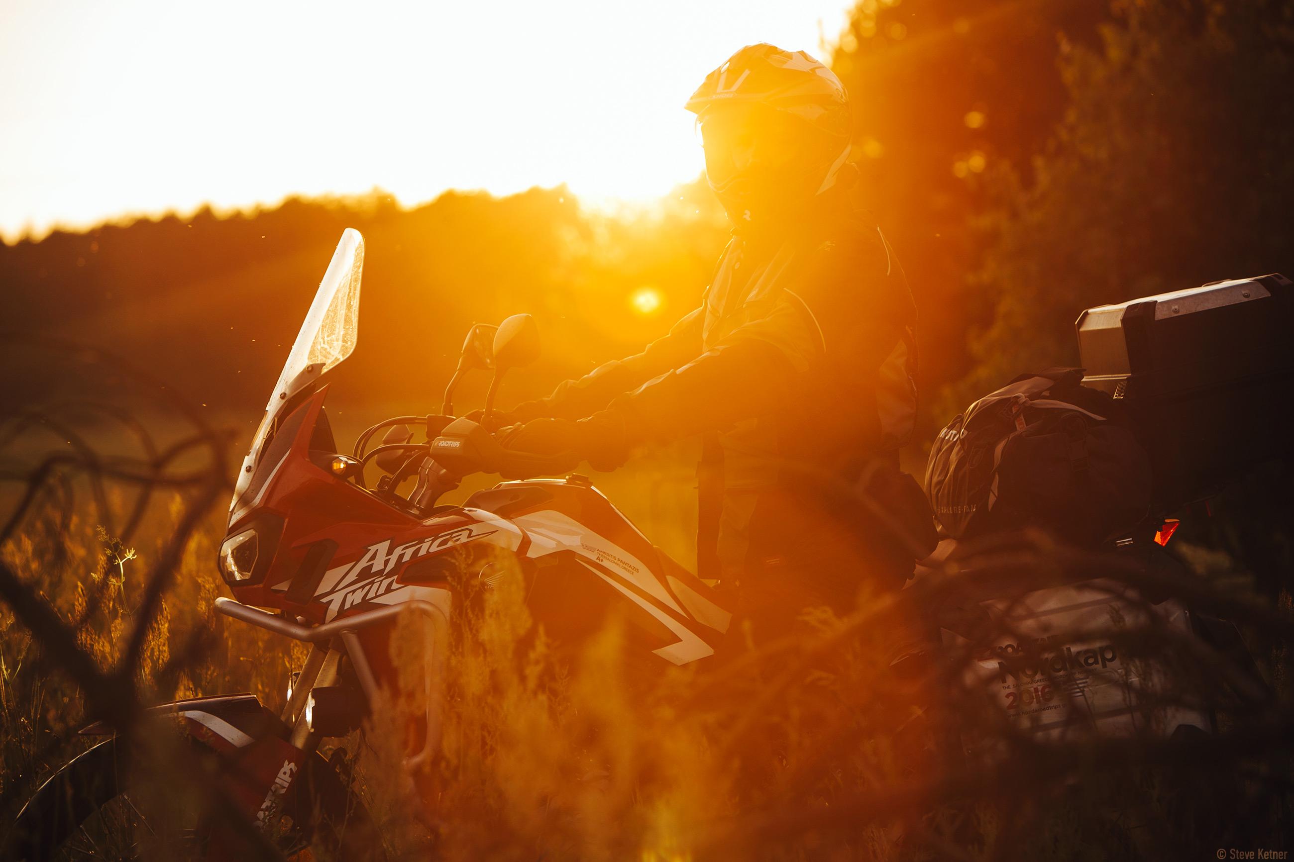 Steve Ketner - Honda Africa Twin 2016