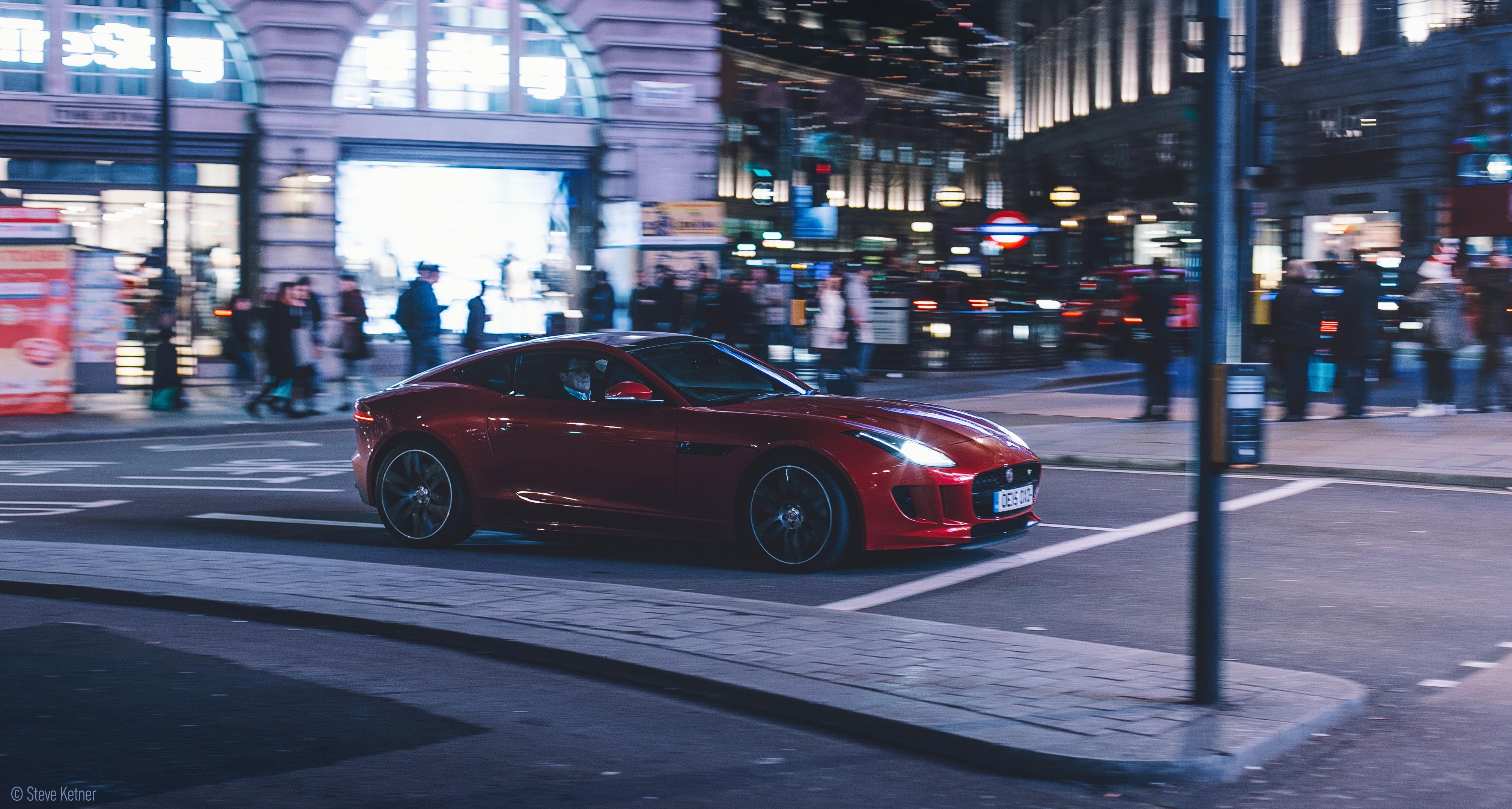 Steve Ketner - Jaguar F-Type - Piccadilly Circus, London