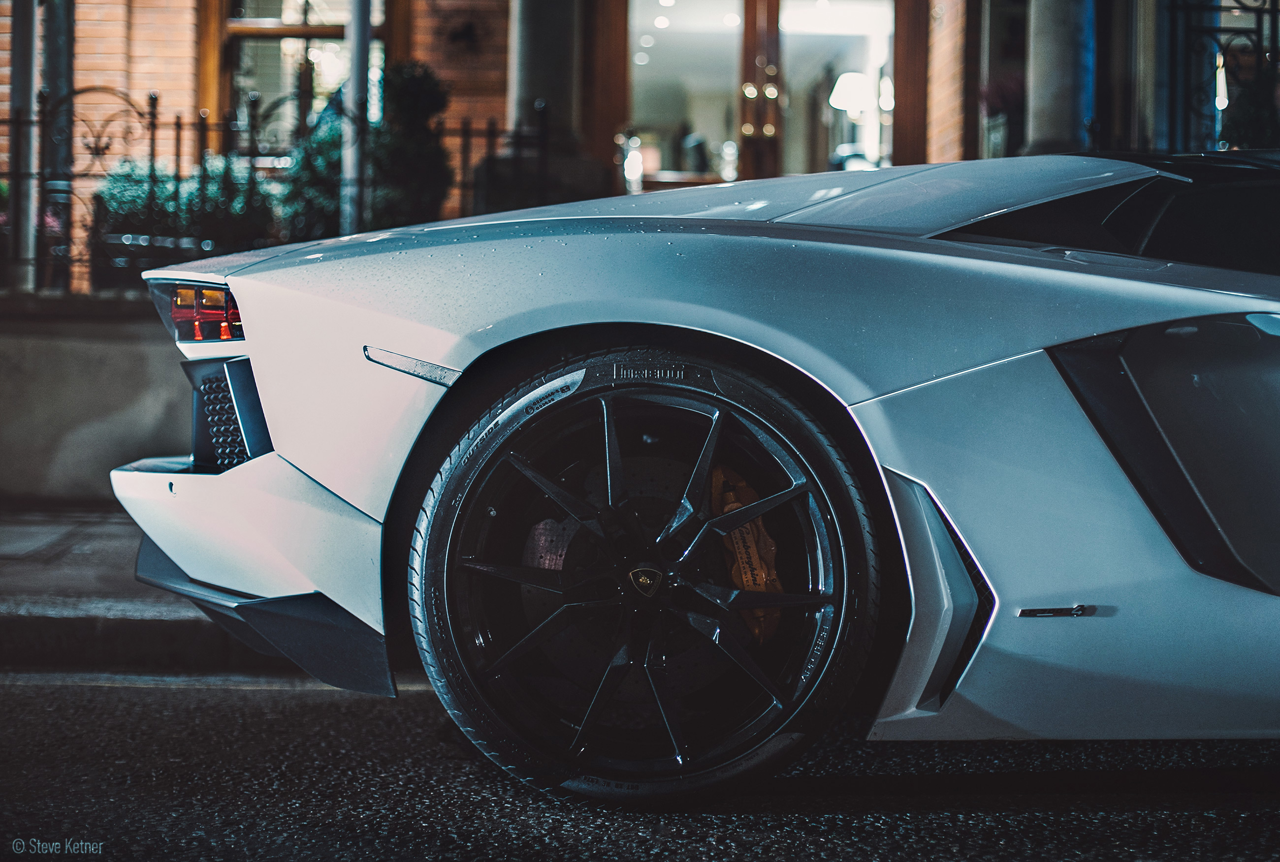 Steve Ketner - Lamborghini Aventador LP700-4 - London
