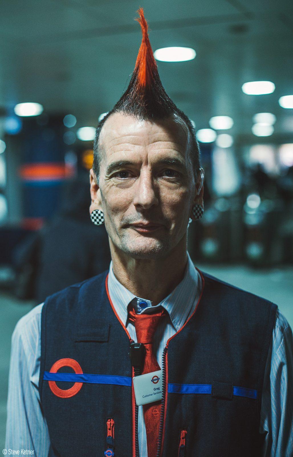 Steve Ketner - London Underground (TfL) for Punk London festival 2016