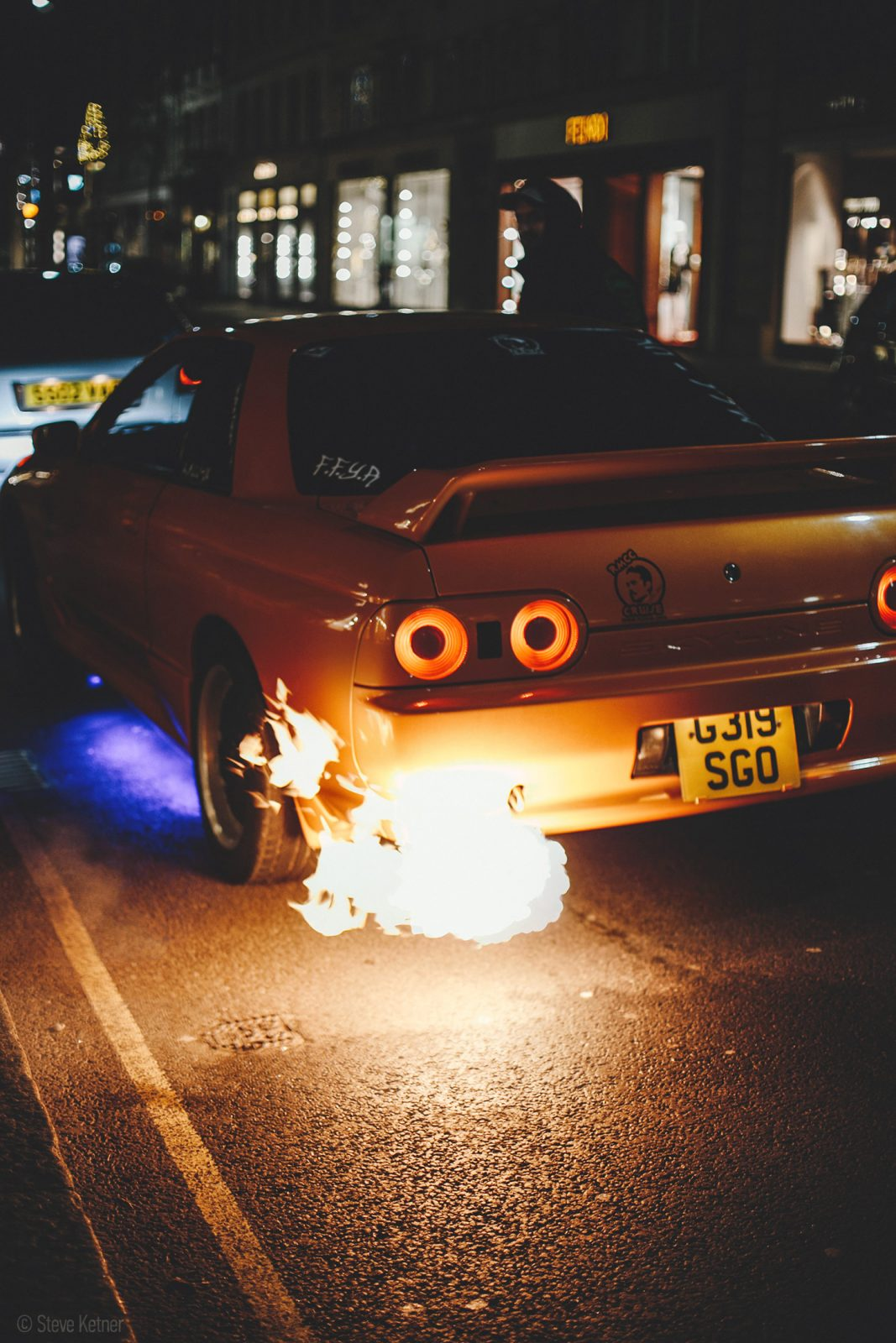 Steve Ketner - Nissan Skyline R32 - Sloane street, London