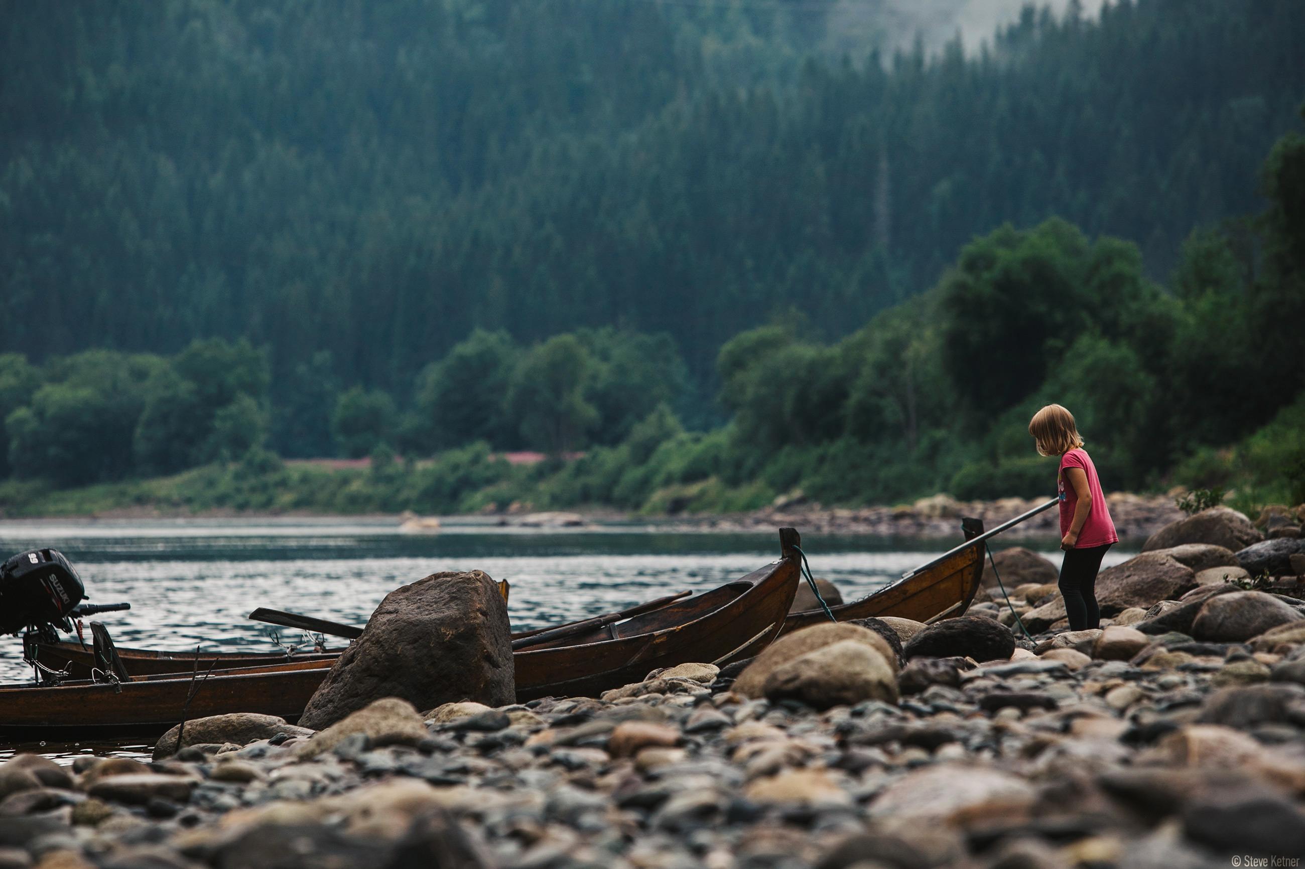 Steve Ketner - Riverside near Grong city – Norway