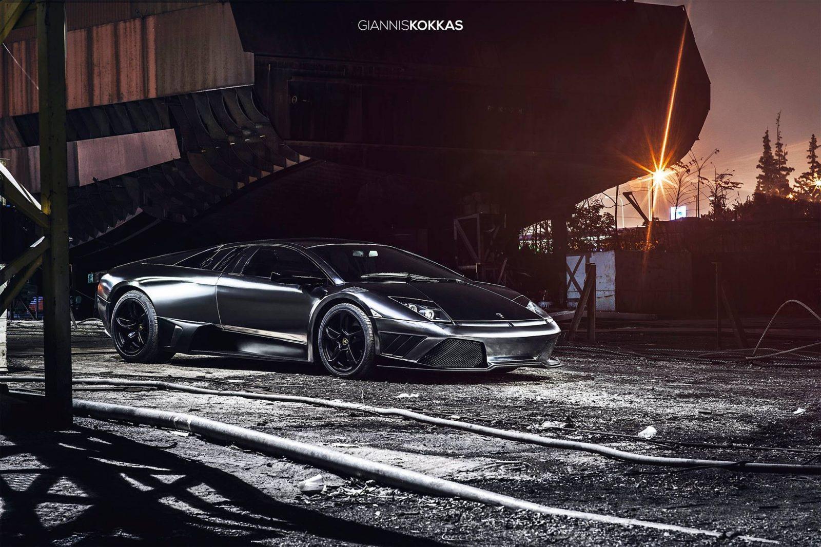 Black Chrome IMSA Lamborghini Murciélago RWD