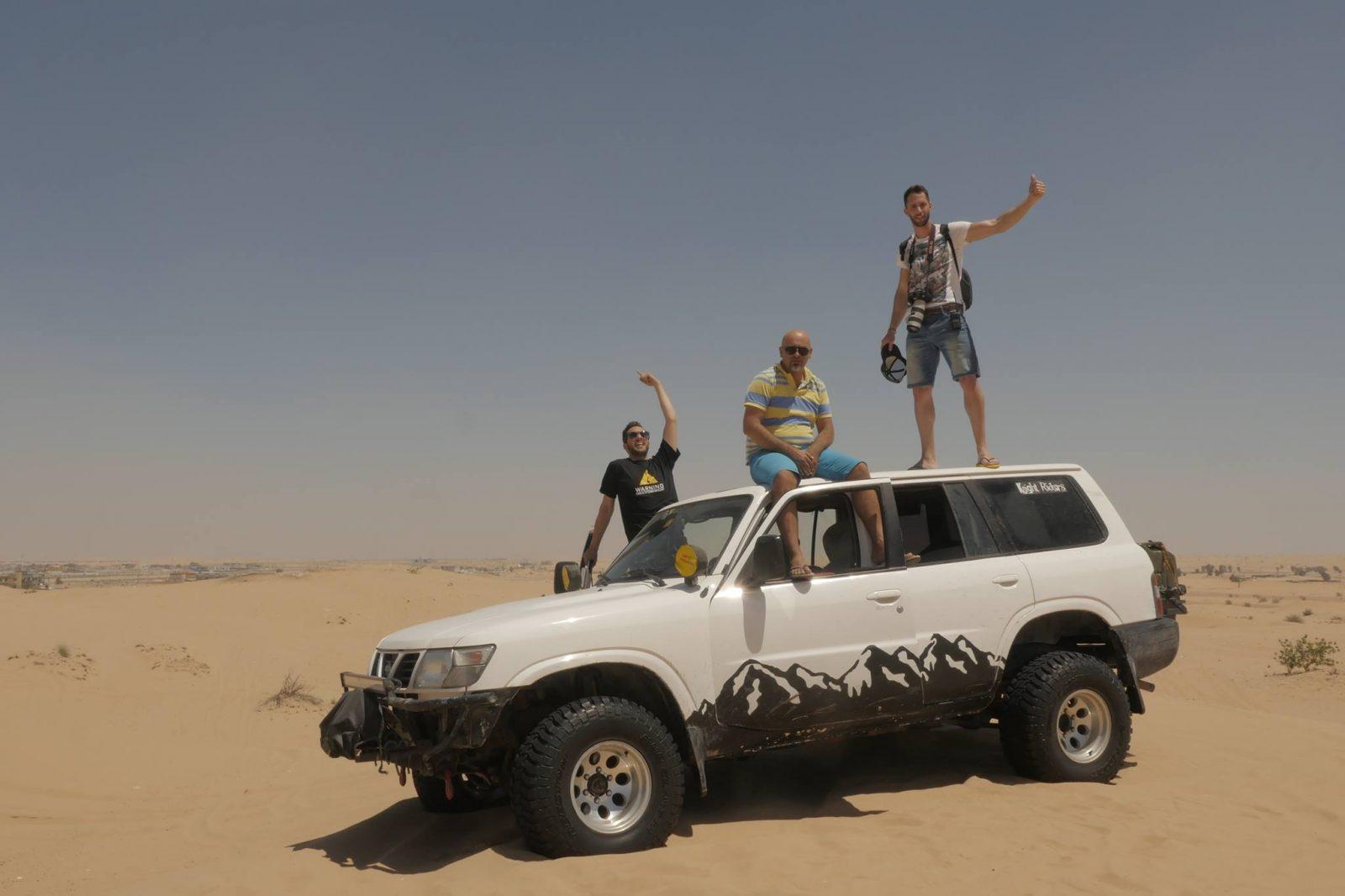 Nissan Patrol Sharjah Desert