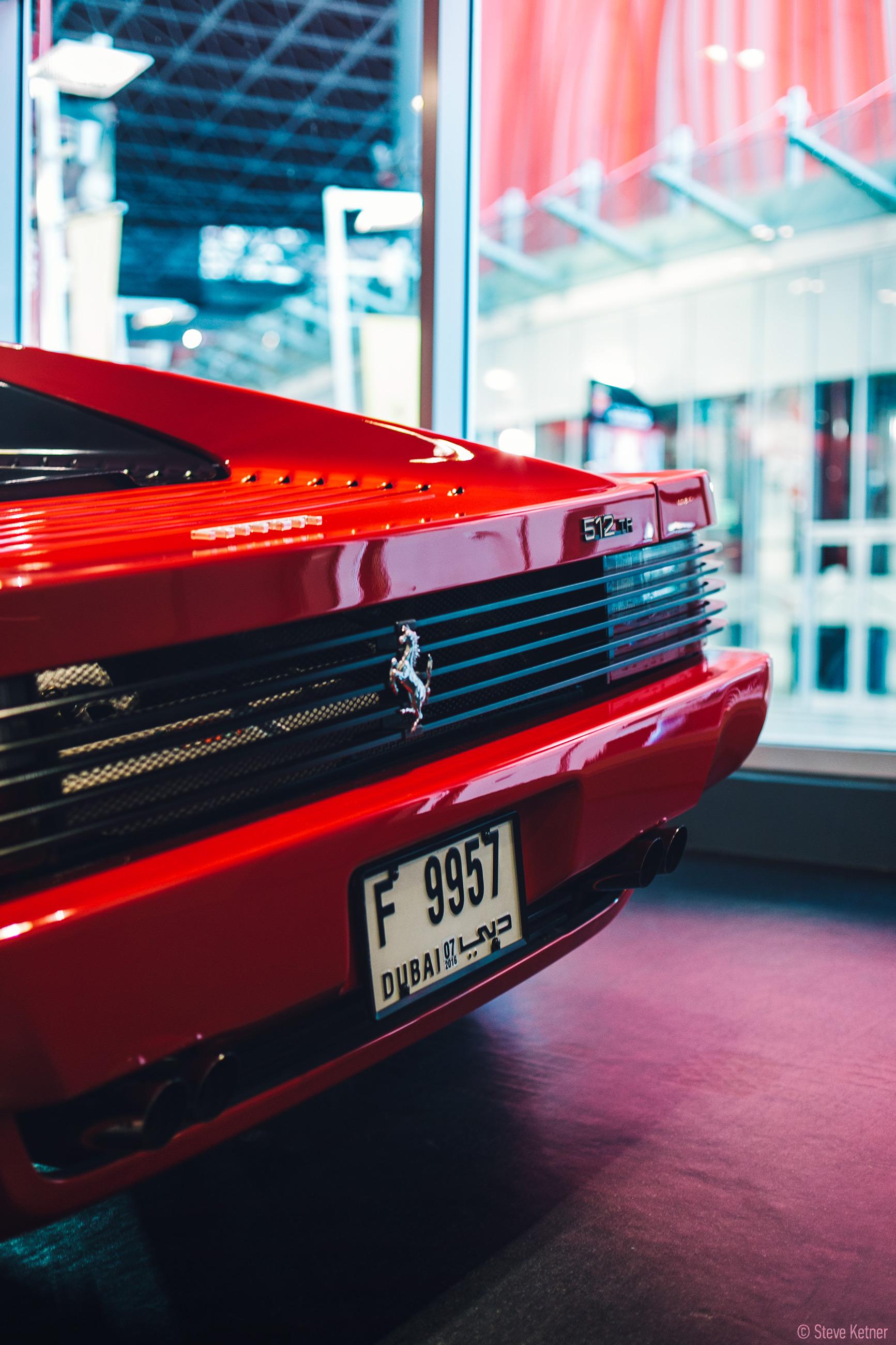 Steve Ketner - Ferrari 512TR - Ferrari World Abu Dhabi