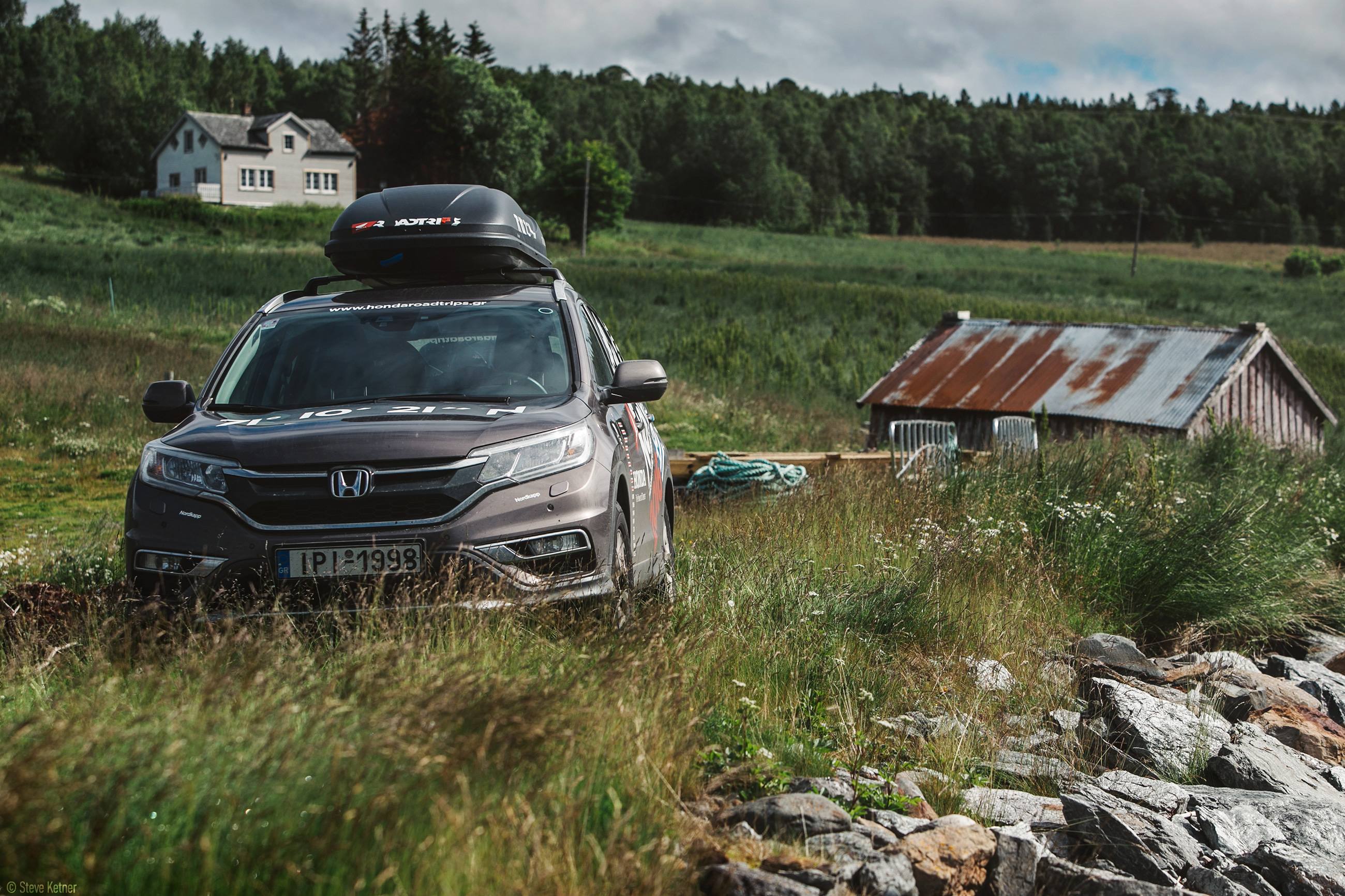 Steve Ketner - Honda CR-V 2016 – Fjords, Norway