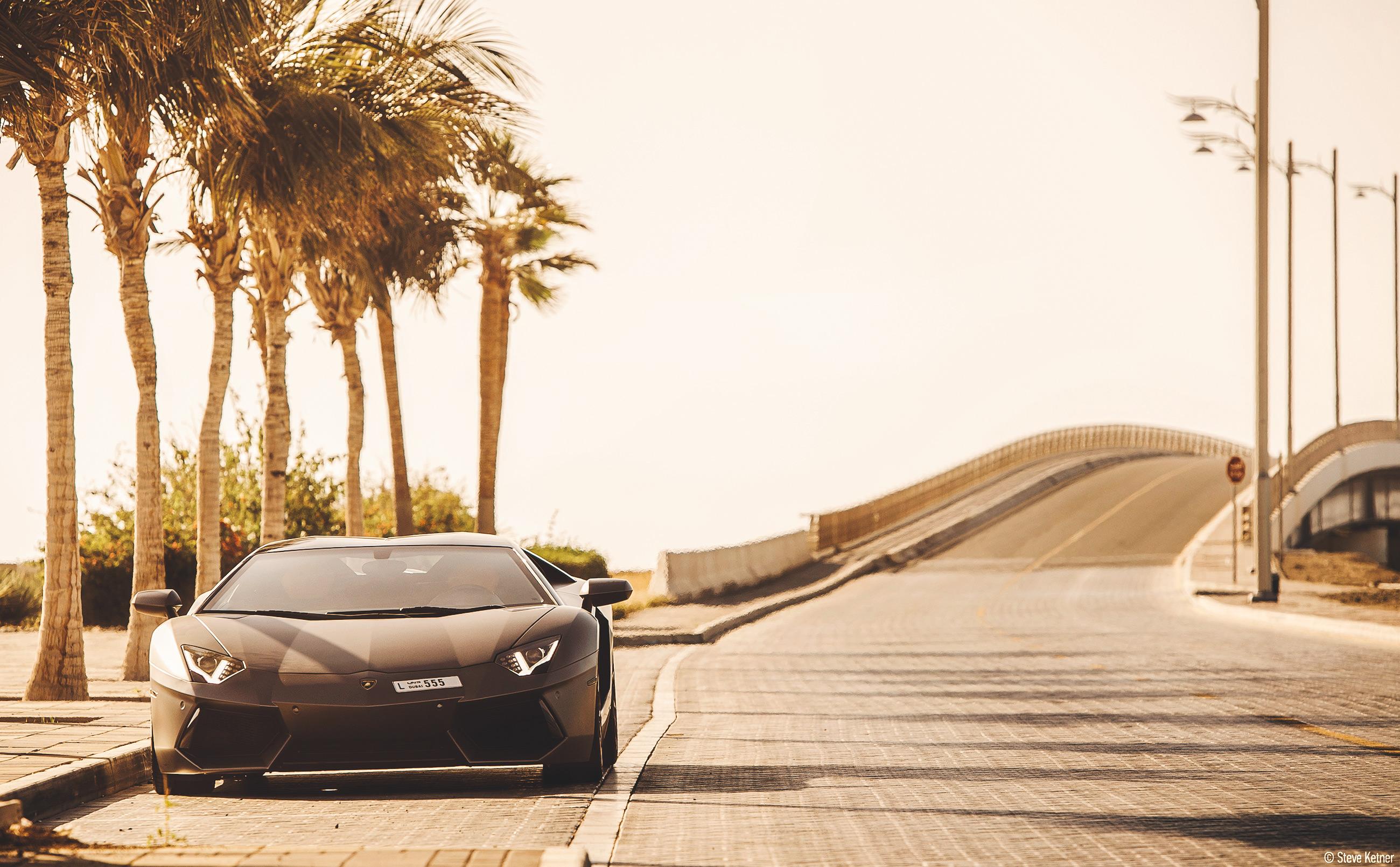 Steve Ketner - Lamborghini Aventador LP700-4 – Dubai