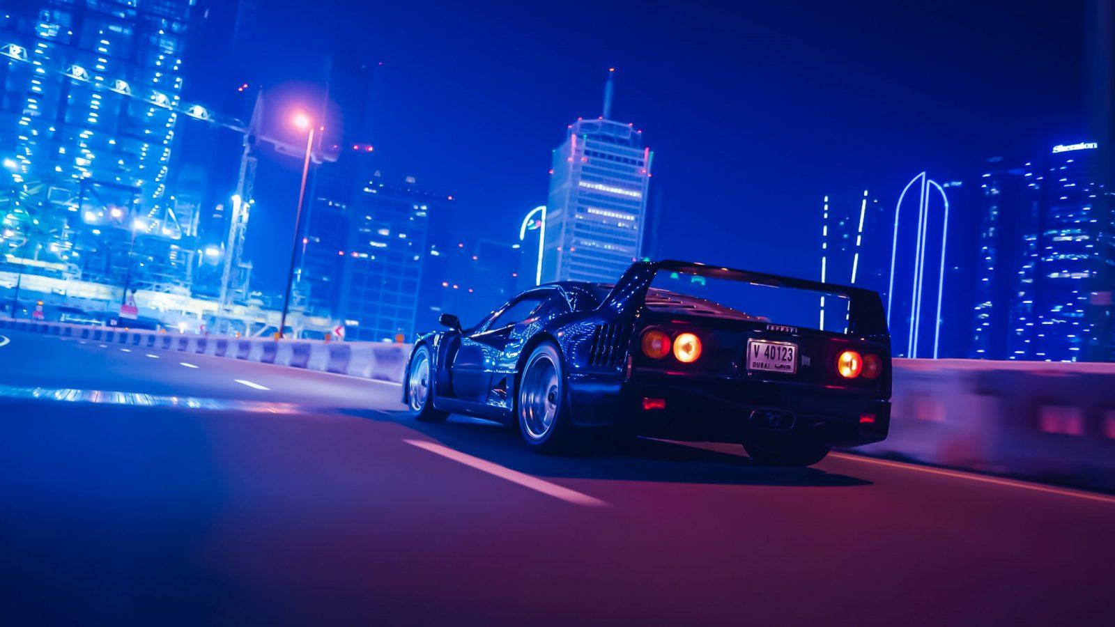 Ferrari – F40 | Nightcrawler